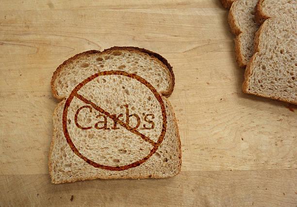 Prohibición de carbohidratos - foto de stock