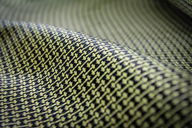Sfondo in fibra di carbonio aramide - foto stock