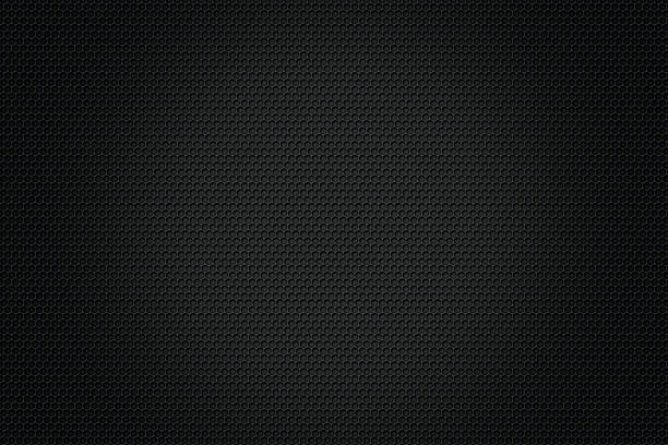 Carbon fiber background,black texture stock photo
