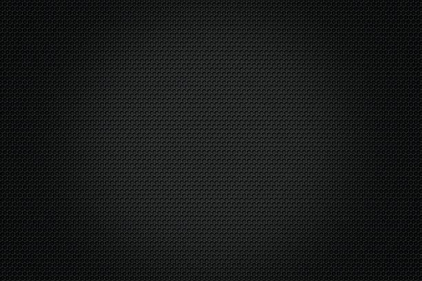 carbon fiber background,black texture - mesh textile stock photos and pictures