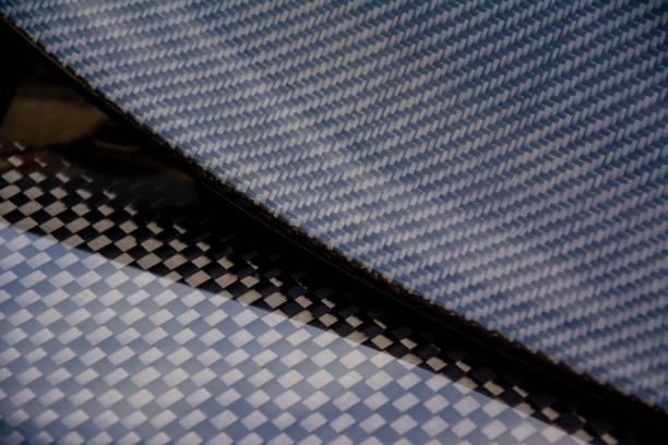 Carbon fiber composite product for motor sport and automotive racing - foto stock