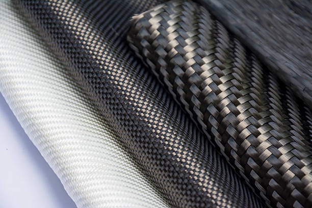 carbon fiber composite raw material - material stock photos and pictures