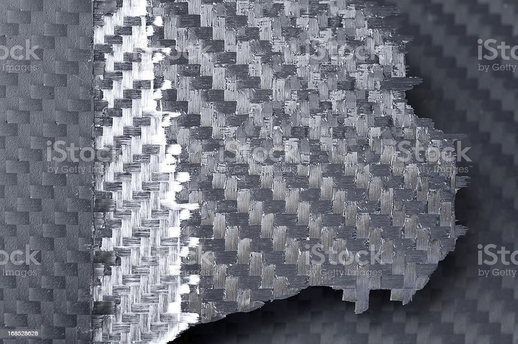 Carbon fiber royalty-free stock photo
