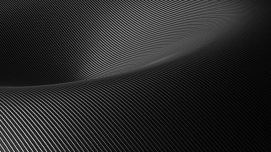 Carbon fiber style background 3D illustration