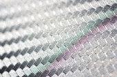 Carbon Fiber Weave Texture Close-up