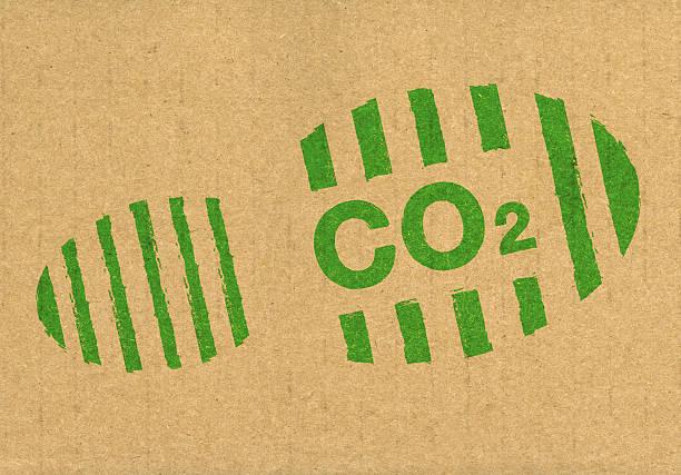 co2-carbon footprint - was ist co2 stock-fotos und bilder