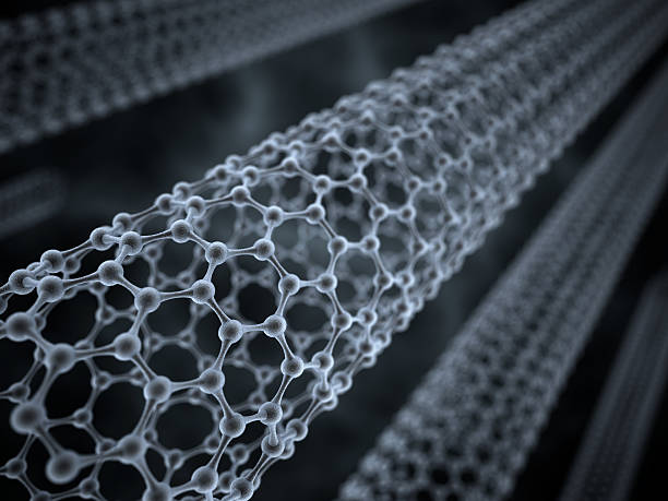 Carbon nanotube stock photo