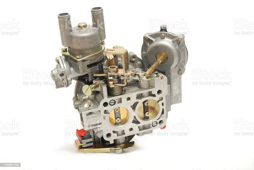 carburetor stock photo