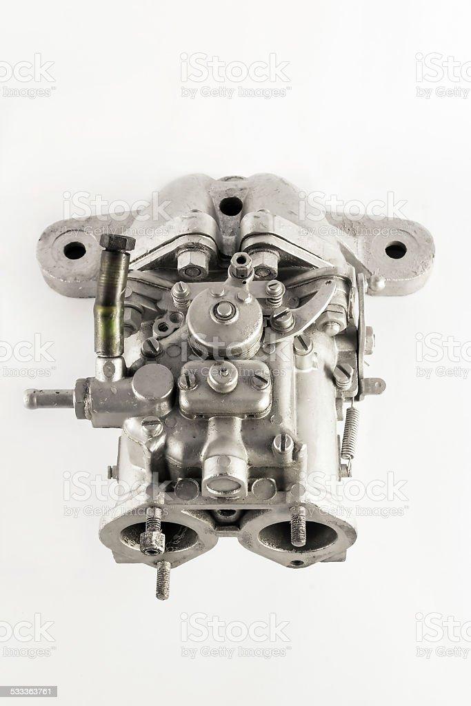 Carburetor stock photo