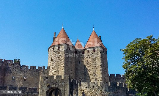 In August 2016, tourists were visiting the fortified city of Carcassonne in South of France