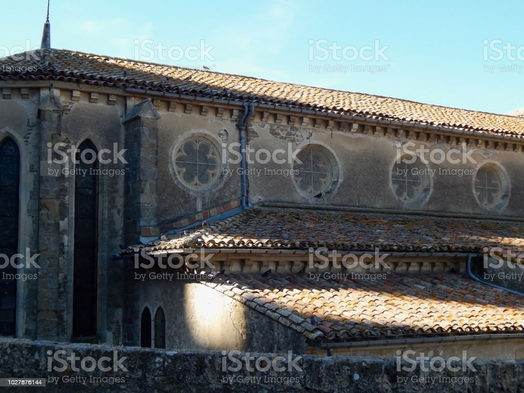 Carcassonne building stock photo