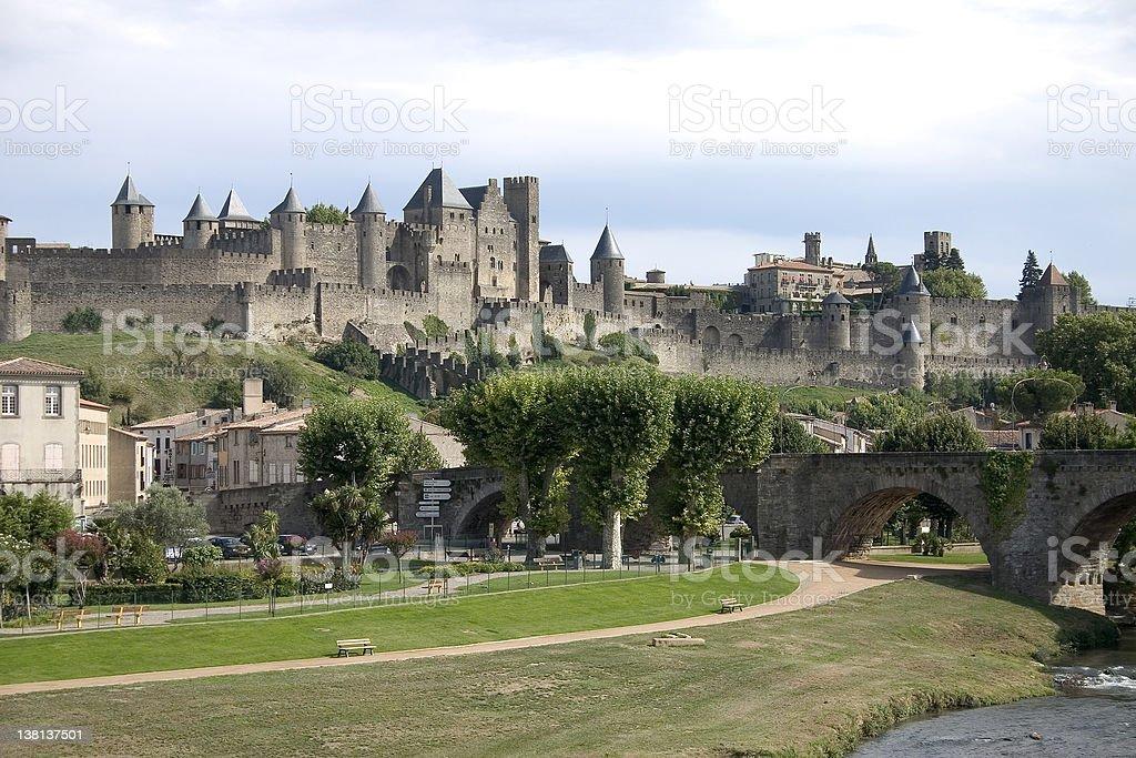 Carcassonne, France royalty-free stock photo