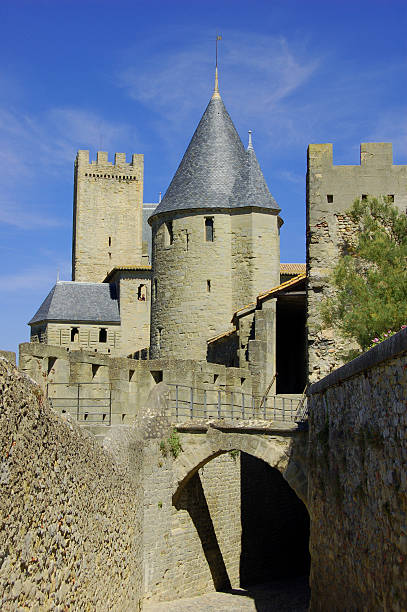 Carcassonne stock photo
