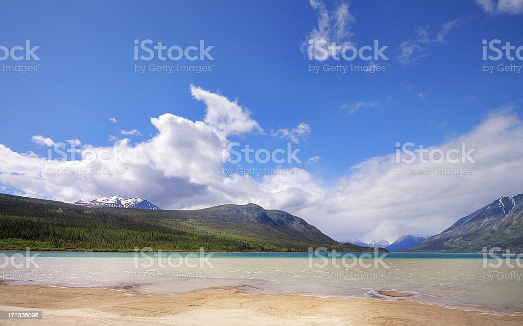 Carcross Scenic View stock photo