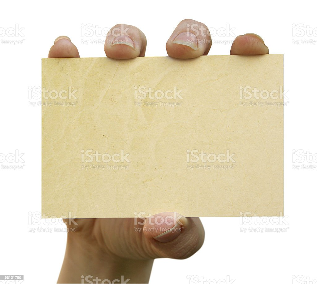 card blank royalty-free stock photo