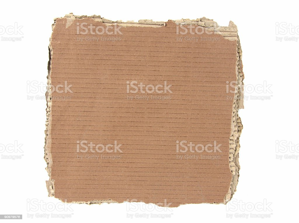 Card Boardr royalty-free stock photo