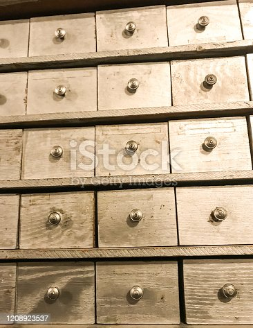 A card catalog is a reminder of the past, before technology. This old filing system is a reminder of the past