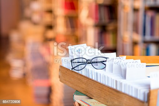 668340340istockphoto Card catalogue at the library 654720906