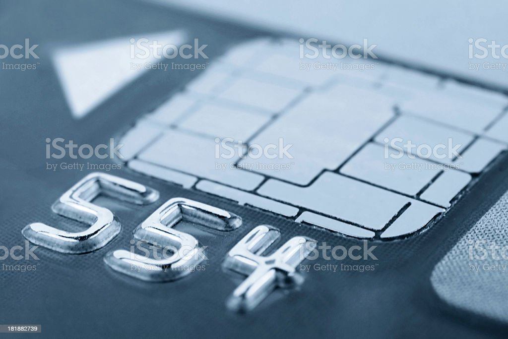 Card chip royalty-free stock photo