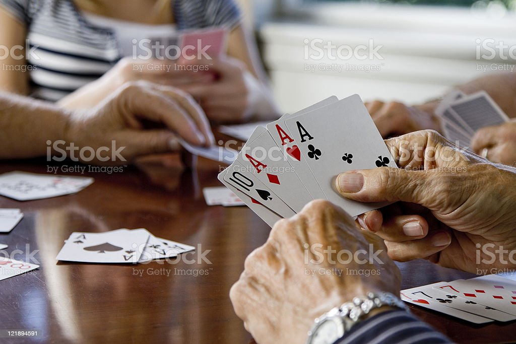 Card Game royalty-free stock photo
