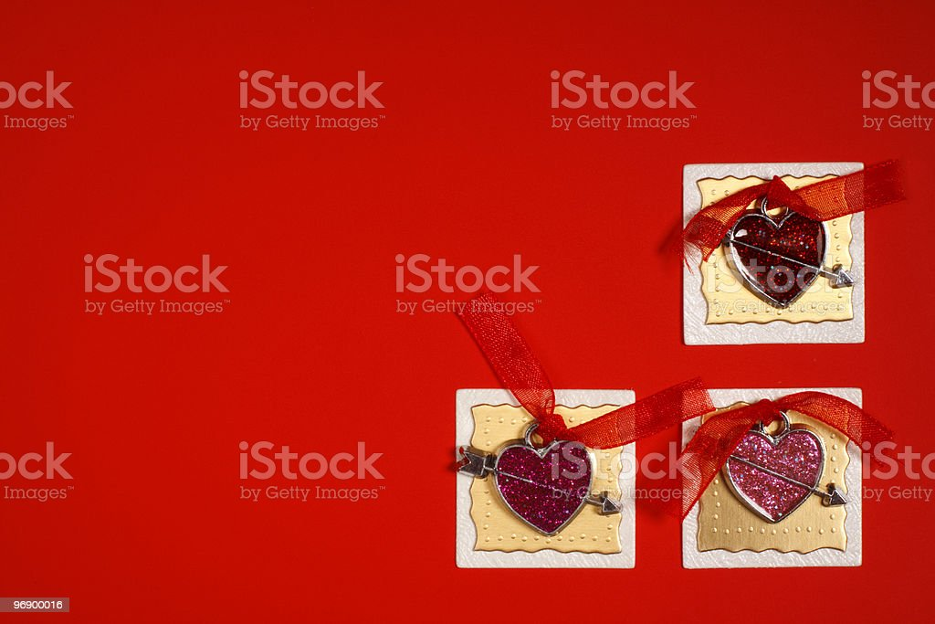 Card like a declaration of love. royalty-free stock photo