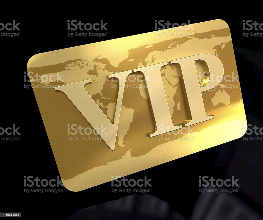 VIP card royalty-free stock photo