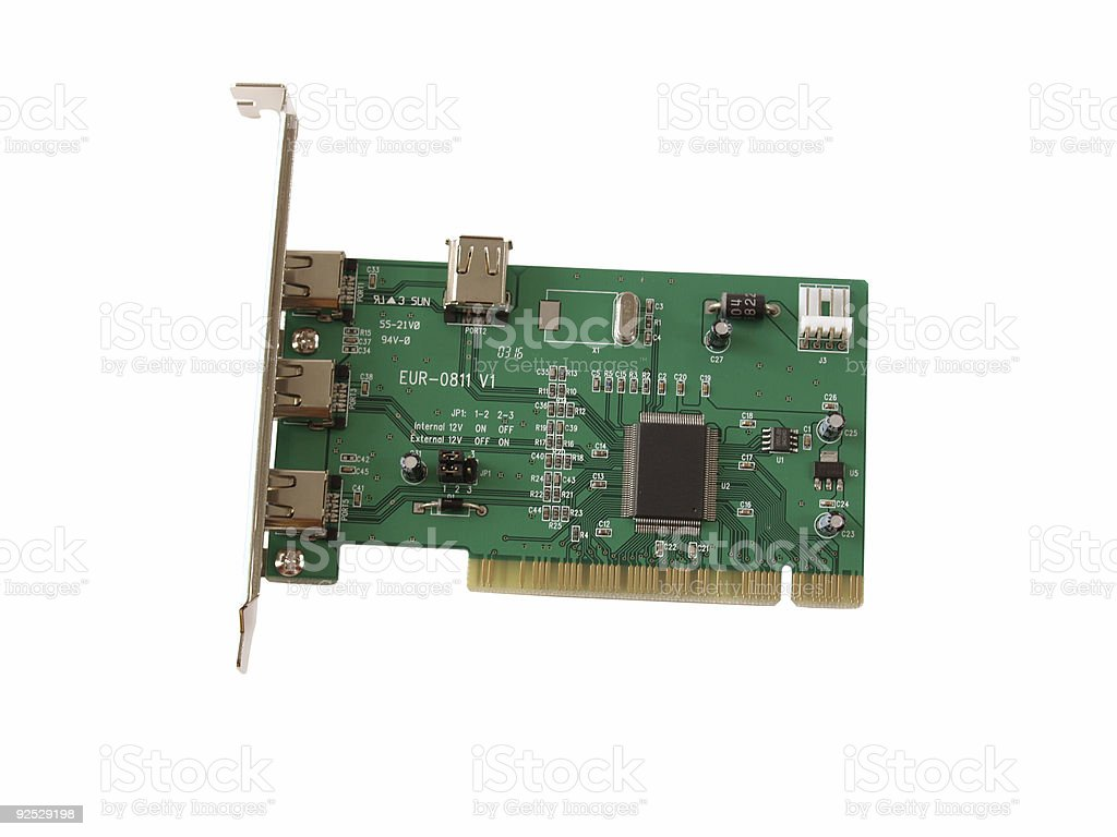 PCI Card royalty-free stock photo