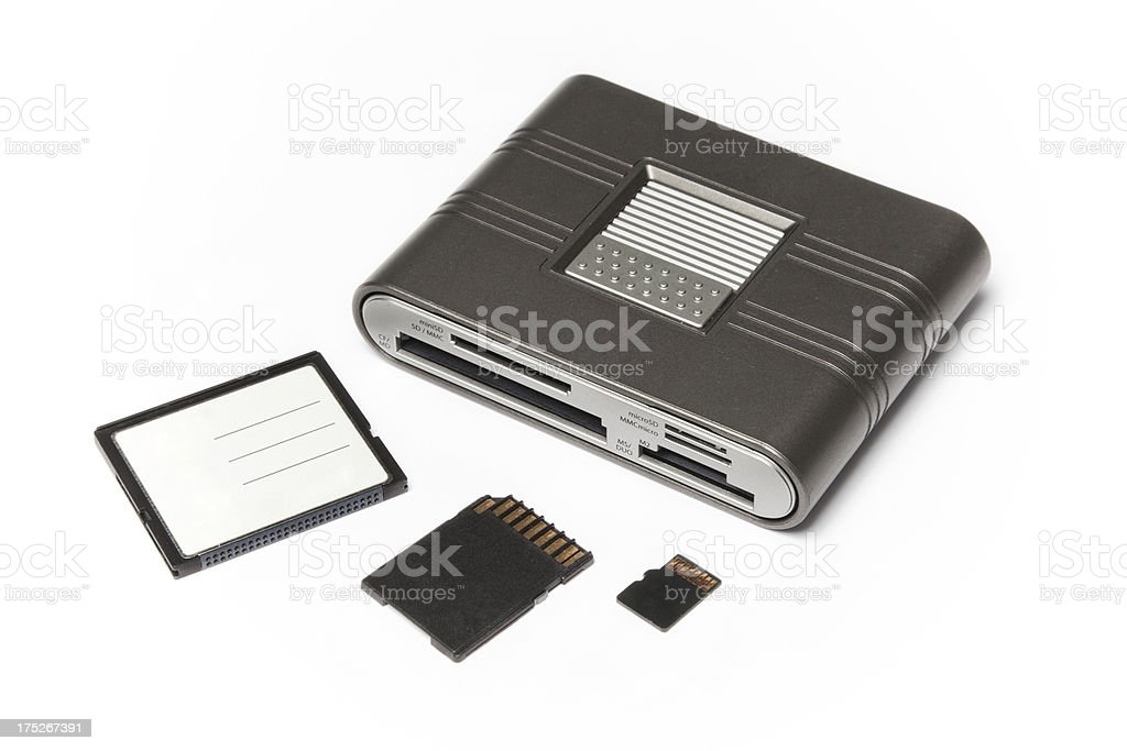 card reader royalty-free stock photo