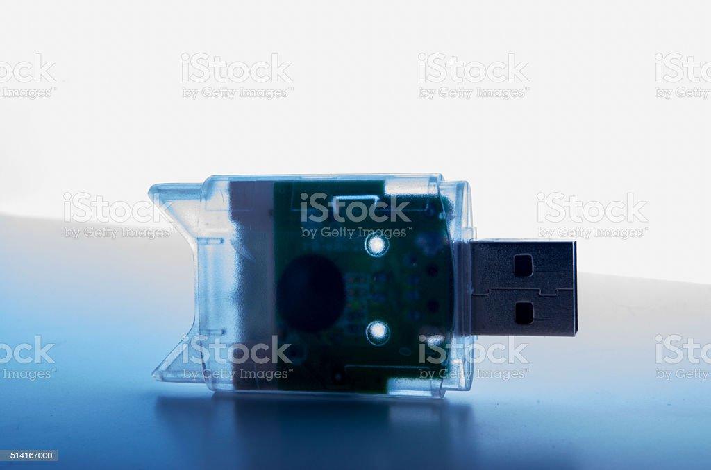 USB Card Reader stock photo