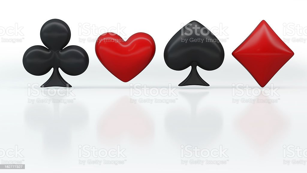 Card Suit royalty-free stock photo