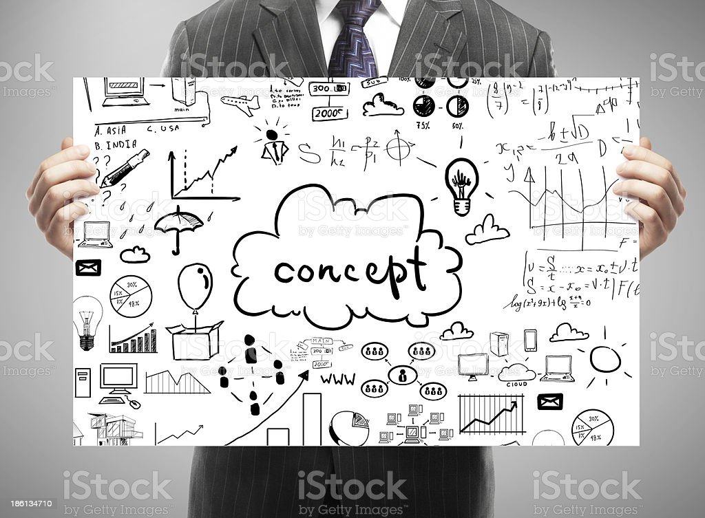 card with business concept royalty-free stock photo