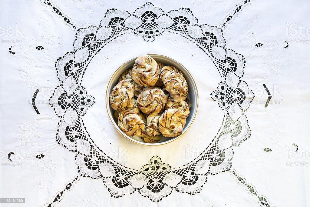 Cardamom Buns - Royalty-free Baking Stock Photo
