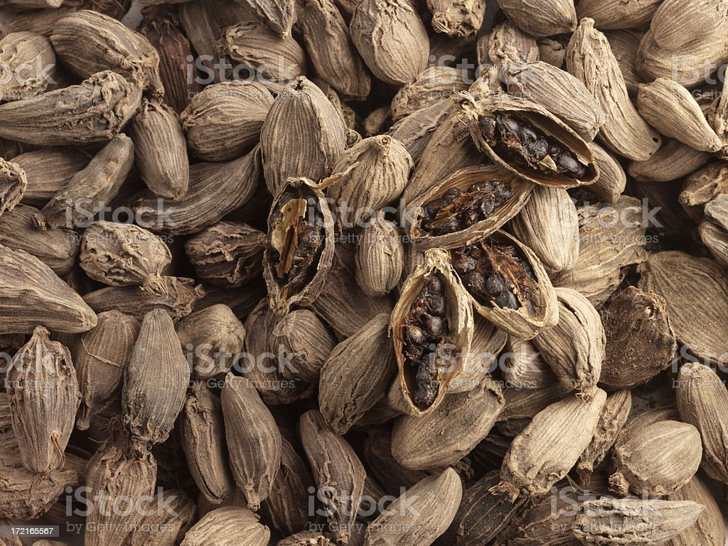Cardamom Pods royalty-free stock photo