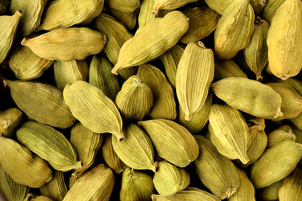 Cardamom Shot in Studio High Resolution Close up of Cardamom Shot in Studio cardamom stock pictures, royalty-free photos & images