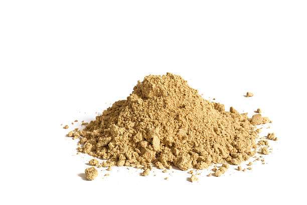 cardamom spice heap cardamom spice heap, in fact it could also be ginger powder because of the same color cardamom stock pictures, royalty-free photos & images
