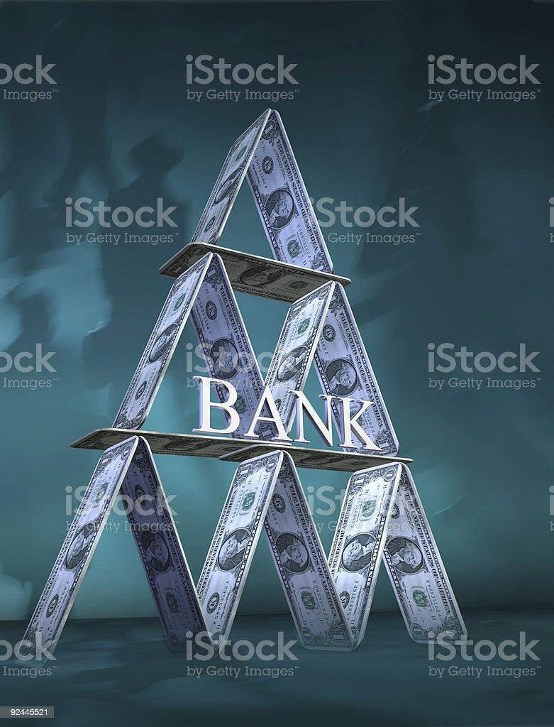 Card-bank royalty-free stock photo