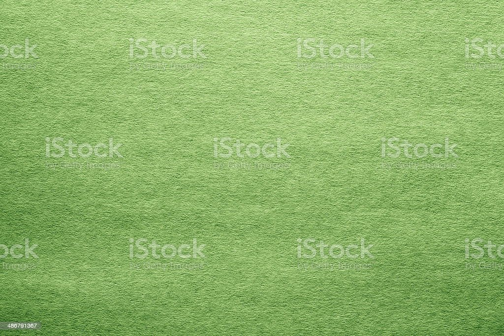 cardboard and paper of green color stock photo