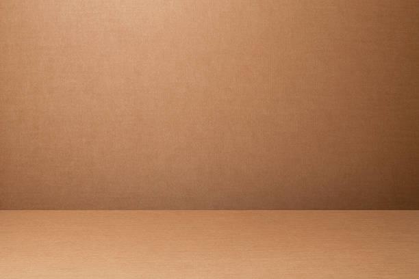 Cardboard backdrop stock photo