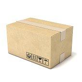istock Cardboard box. Deliver concept. 3D 511810310