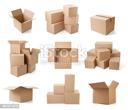 istock cardboard box package moving transportation delivery 601021670