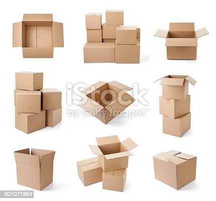istock cardboard box package moving transportation delivery 601021864