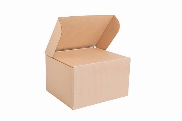 pappkarton - gepäck verpackung stock-fotos und bilder