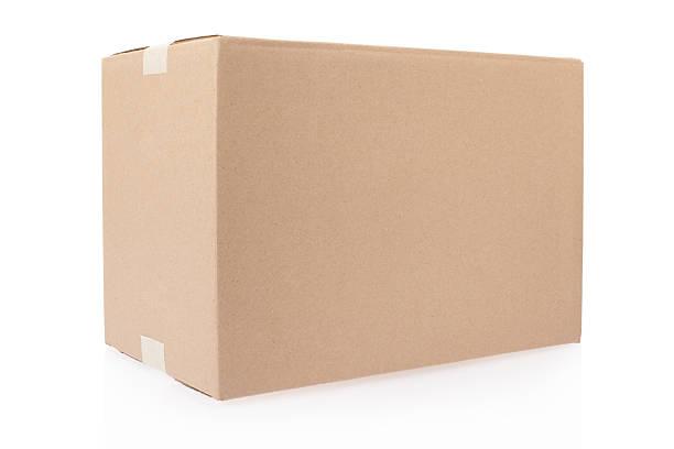Caja de cartón - foto de stock