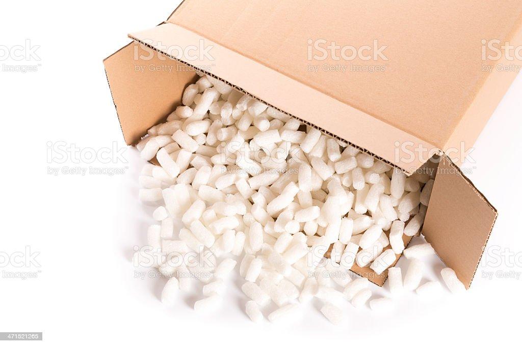 cardboard box royalty-free stock photo