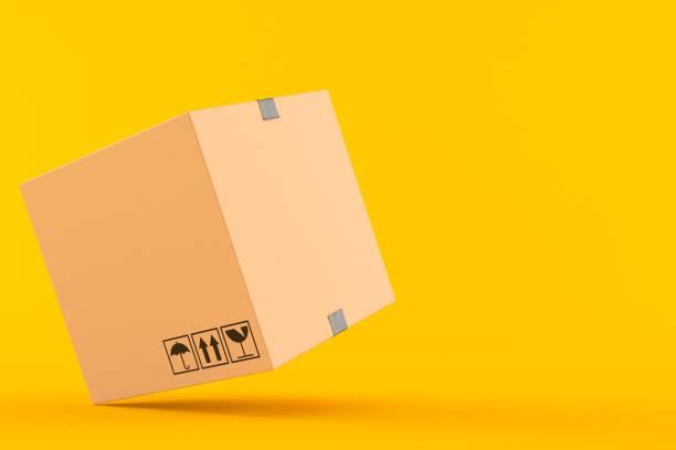Cardboard box - foto stock