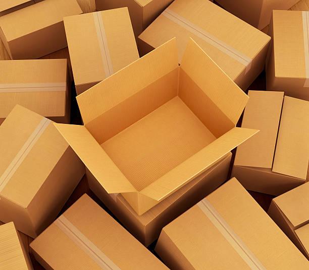 pudełek tekturowych tle. - puste pudełko zdjęcia i obrazy z banku zdjęć