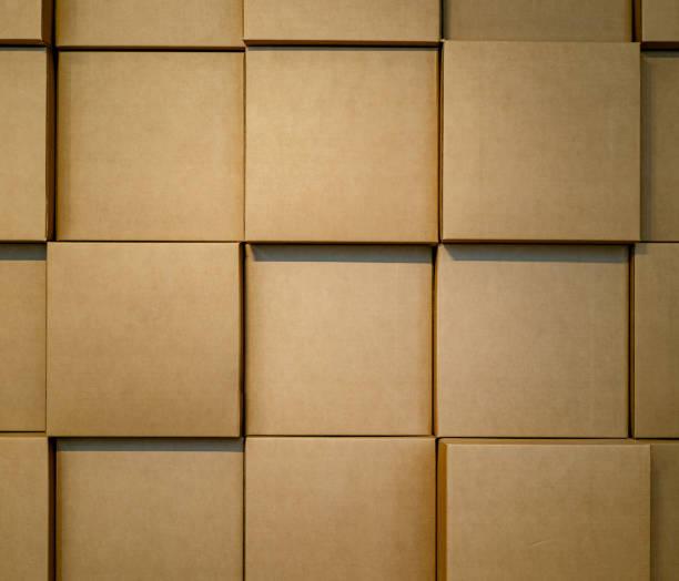 kartonnen dozen - kartonnen verpakking stockfoto's en -beelden