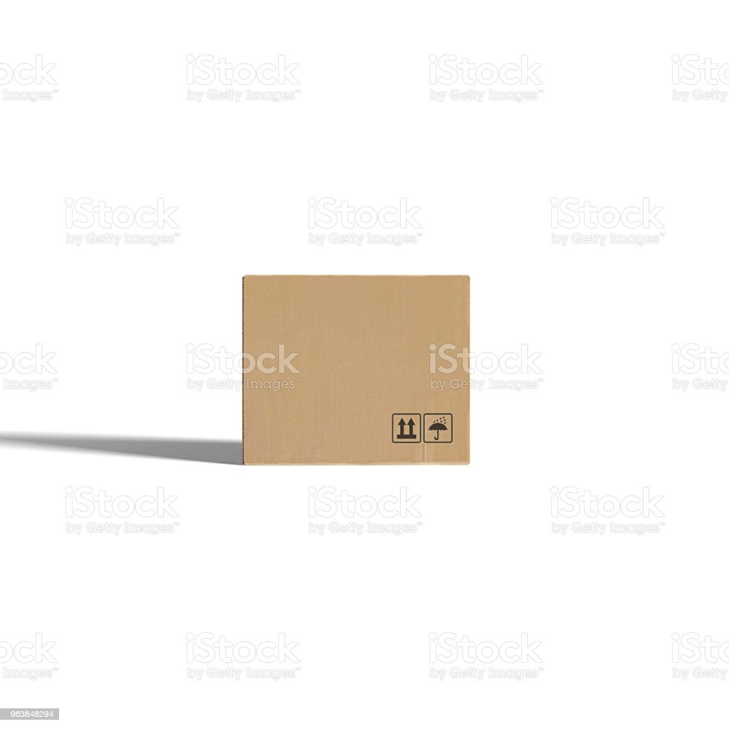 Cardboard boxes - Royalty-free Box - Container Stock Photo