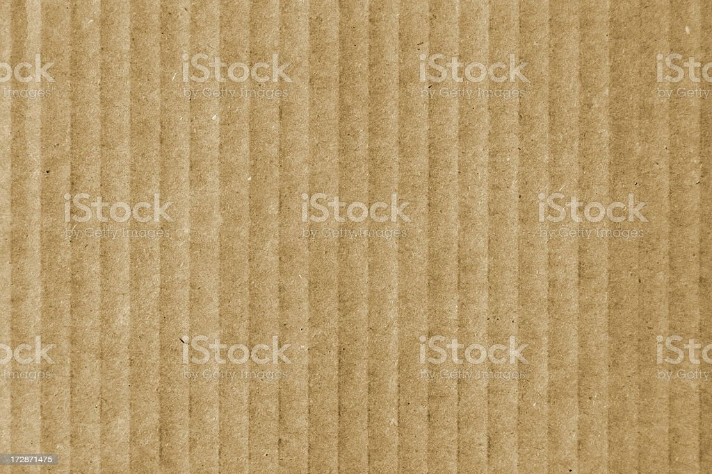 Cardboard Detail Texture royalty-free stock photo