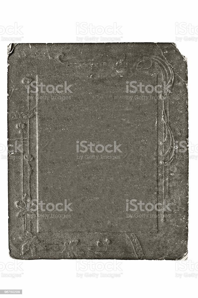 cardboard frame royalty-free stock photo
